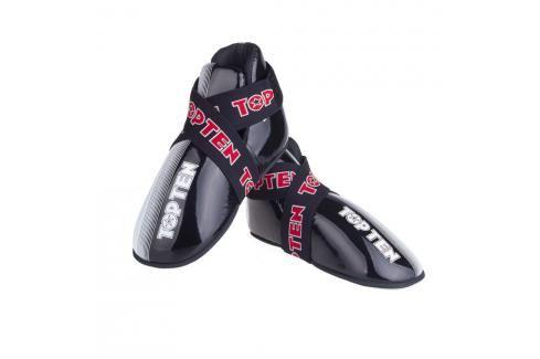Chrániče nohou TOP TEN Acceleration - černá/bílá černá S Boxerské chrániče