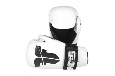 Otevřené rukavice Fighter Strap - bílá bílá XS Boxerské rukavice