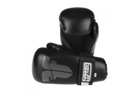 Otevřené rukavice Fighter Strap - černá černá XS Boxerské rukavice