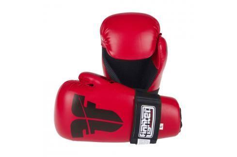 Otevřené rukavice Fighter Strap - červená červená XS Boxerské rukavice