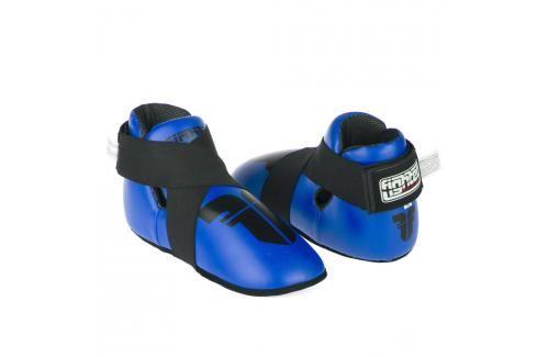 Chrániče nohou Fighter Strap - modrá modrá M Boxerské chrániče