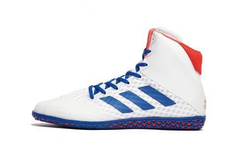 Boty adidas Mat Wizard 4. - bílá/modrá/červená bílá 7 Pánská obuv