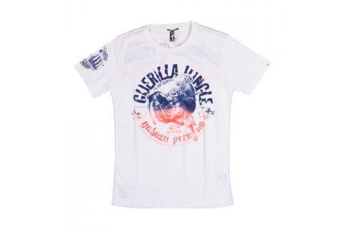 Triko Guerilla Jungle Yakuza Premium - bílá bílá M Pánská trička