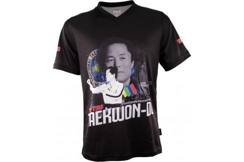 Triko Top Ten ITF Choi černá S Pánská trička