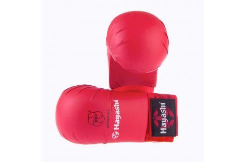 Hayashi karate tsuki WKF - červená červená M Boxerské rukavice
