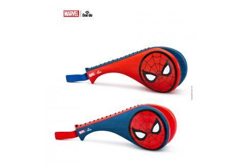 Lapa TKD DAEDO dvojitá dětská, junior - Spider-Man modrá XS Lapy