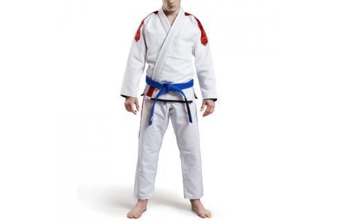 Grips Classic Logo BJJ kimono - bílá/červená bílá A3 Kimona