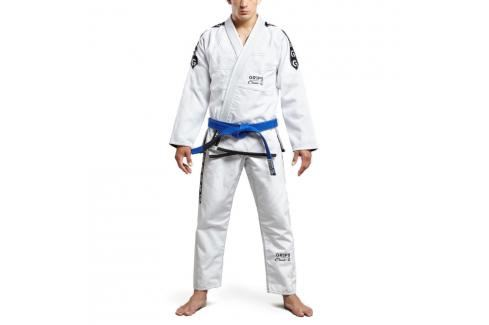 Grips Classic Logo BJJ kimono - bílá/černá bílá A1 Kimona