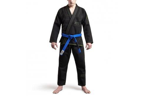 Grips Classic Logo BJJ kimono - černá/zelená černá A1 Kimona