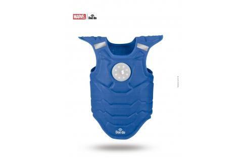 Elektronická vesta Daedo Iron Man - modrá modrá S Boxerské chrániče