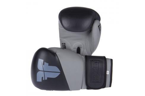 Boxerské rukavice Fighter SPLIT- černá/šedá černá 10 Boxerské rukavice