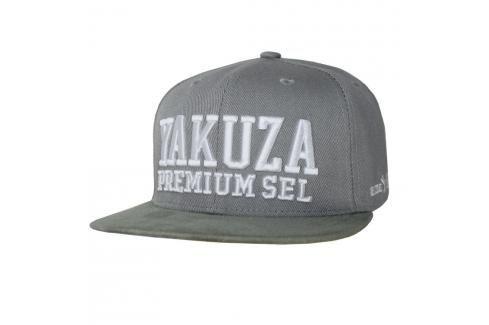 Yakuza Premium Kšiltovka - šedá šedá Kšiltovky