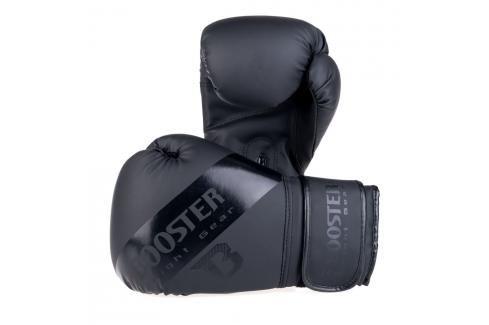 Boxerské rukavice Booster - černá černá 10 Boxerské rukavice