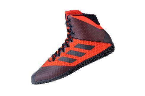 Zápasnické Boty adidas Mat Wizard 4. - černá/červená černá 8 Pánská obuv
