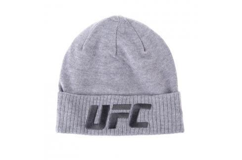Reebok čepice UFC - šedá šedá Zimní čepice