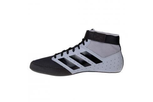 Zápasnické Boty adidas Mat Hog 2.0 - šedá/černá šedá 5 Pánská obuv
