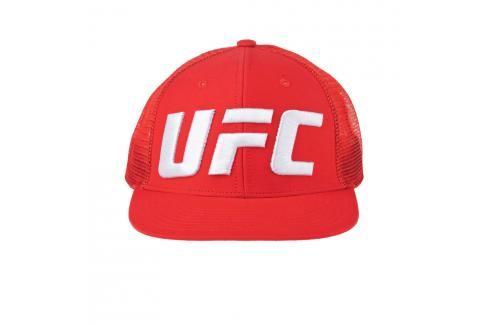 Reebok UFC Logo Trucker kšiltovka - červená červená Kšiltovky
