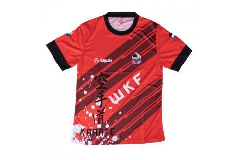 Triko Hayashi WKF - červená červená M Pánská trička