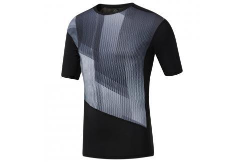 Reebok OS Kompresní Triko - černá černá S Pánská trička