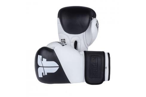 Boxerské rukavice Fighter SPLIT- černá/bílá černá 10 Boxerské rukavice