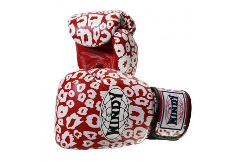 Boxerské rukavice Windy Special - červená/bílá červená 10 Boxerské rukavice