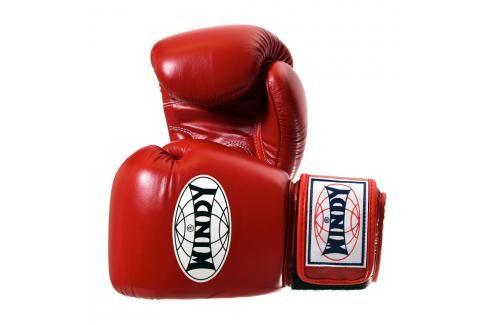 Boxerské rukavice WINDY Special - červená červená 10 Boxerské rukavice