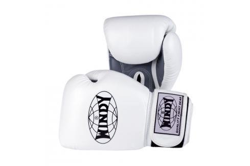 Boxerské rukavice Windy Special - bílá/šedá bílá 10 Boxerské rukavice