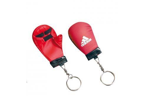 Mini rukavička adidas karate červená Klíčenky