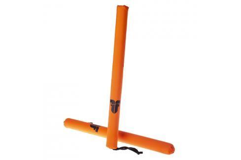 Boxerské obušky Fighter neon. oranžová Lapy