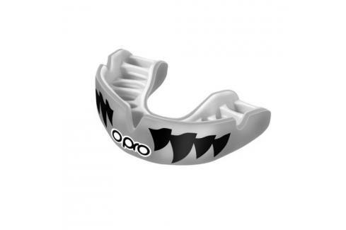 Chrániče zubů - OPRO UFC PWF - stříbrná/černá stříbrná Boxerské chrániče