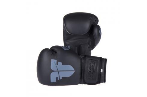 Boxerské rukavice Fighter SIAM - černá černá 8 Boxerské rukavice