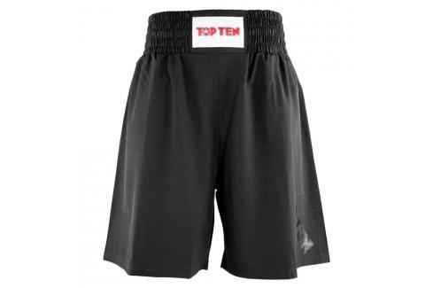 Boxerské trenky TOP TEN - černá černá S Pánské šortky