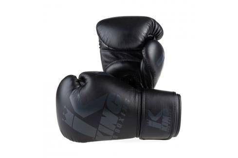 King Pro Boxing boxerské rukavice Platinum 1 - černá černá 10 Boxerské rukavice