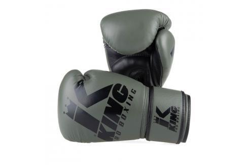 King Pro Boxing boxerské rukavice Platinum 3 - khaki khaki 10 Boxerské rukavice