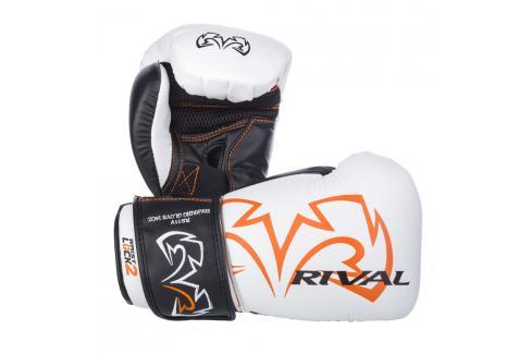 Boxerské rukavice Rival Evolution - bílá bílá 14 Boxerské rukavice