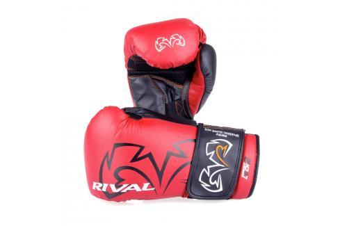Boxerské rukavice Rival Evolution - červená červená 14 Boxerské rukavice