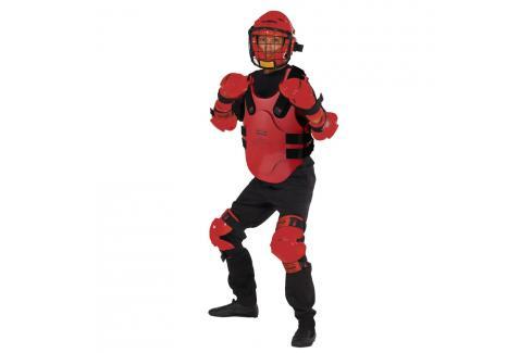 RedMan XP - Oblek pro studenty červená set S/M - přilba L Boxerské helmy