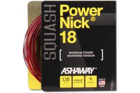 Squashový výplet Ashaway PowerNick 18 Zyex Red 1,15 mm squash