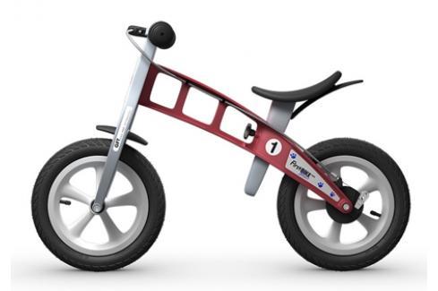 Dětské odrážedlo First Bike Street červené Dětská odrážedla