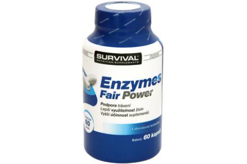 Survival Enzymes Fair Power 60 tbl Spalovače tuků