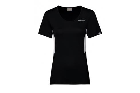 Dámské tričko Head Club Tech Black Dámská trička