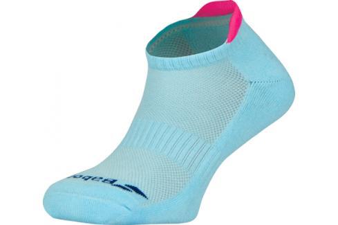 Ponožky Babolat Invisible 2 Pairs Women Blue/Pink Dámské ponožky