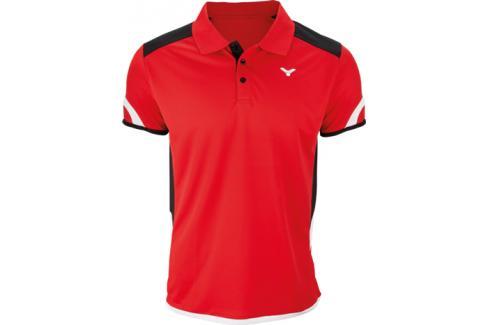 Pánské funkční tričko Victor Polo 6727 Red Trička s krátkým rukávem