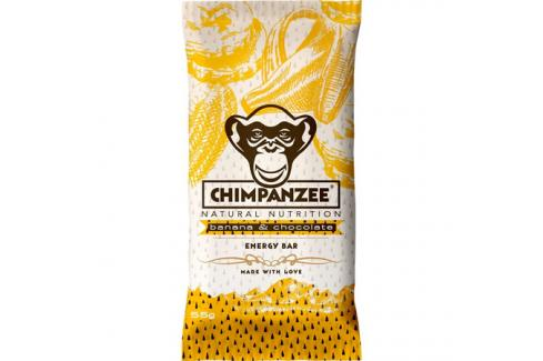 Chimpanzee Energy Bar 20 x 55 g Banana Chocolate Survival