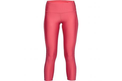 Dámské legíny Under Armour HG Armour Ankle Crop Branded růžové Dámské kalhoty