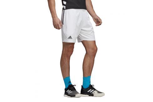 Pánské šortky adidas Escouade Short 7 White Pánské šortky