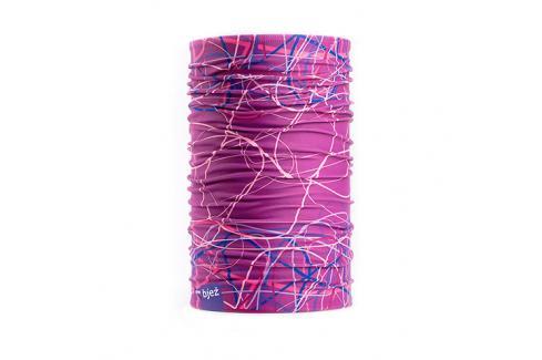 Nákrčník Bjež Bush Pink Dámské oblečení