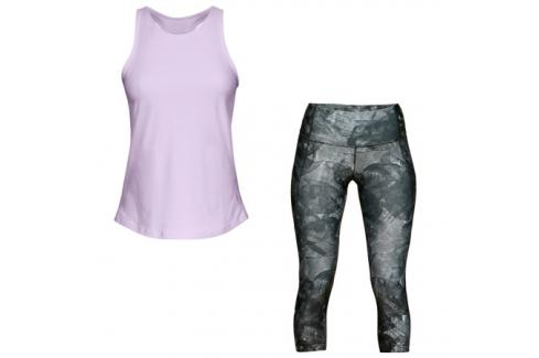 Dámský set Under Armour fialovo-šedý Dámské oblečení