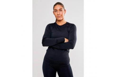 Dámské tričko Craft Fuseknit Comfort LS černé Dámské trička