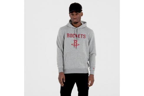 Pánská mikina s kapucí New Era NBA Remaining Teams Houston Rockets Light Grey Pánské mikiny
